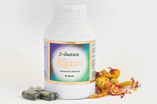 Bote de Algasol - complemento natural alimenticio